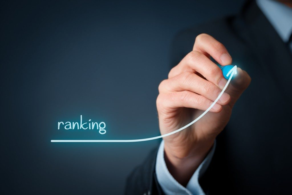 Businessman draw plan to increase ranking
