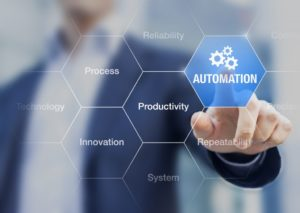 Presentation about automation as an innovation improving productivity, reliability and repeatability
