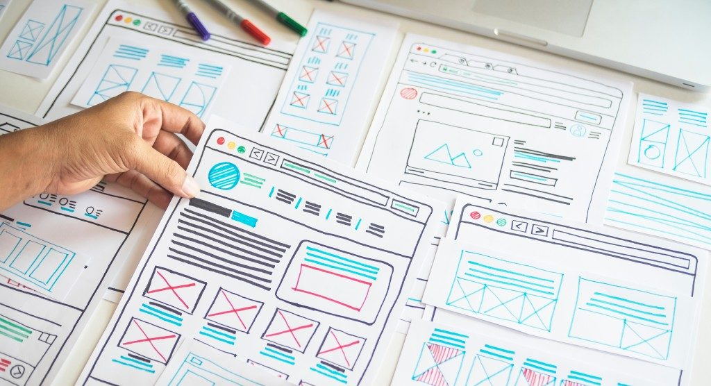Web design optimization planning