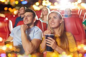 couple in the theater